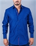 Blue Dot  Casual Dress Shirt