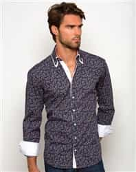 Men paisley shirt