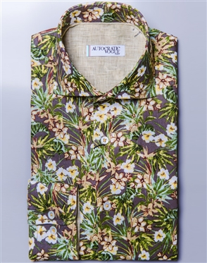 Sporty Floral Shirt Autocratic Vogue  Mora