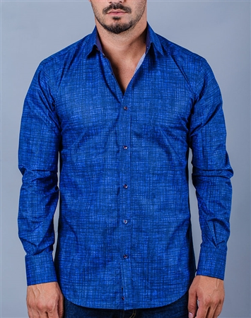 Denim Style Casual Shirt