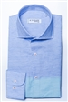 Blue Turquoise Minicheck Dress shirt