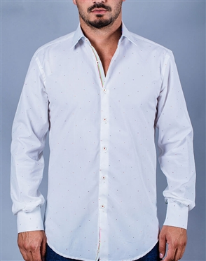 White Italian Dress Shirt