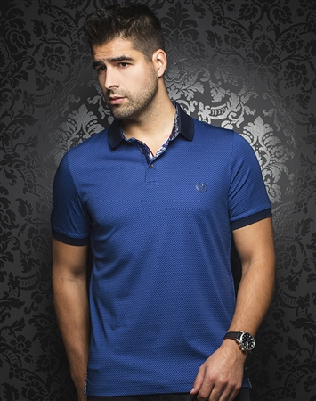 Luxury Sport Polo -  Barkley Navy