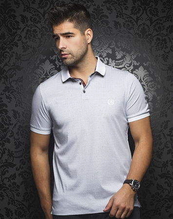 Luxury Sport Polo -  Barkley White