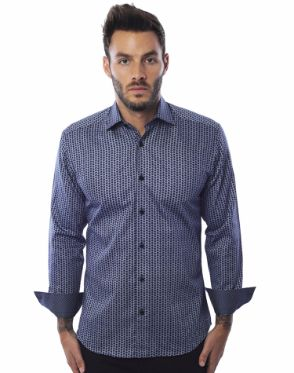 Casual Sport Shirt - Navy