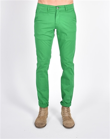 Green Slim Fit Chino Pants|Eight-x Luxury Chino Pants