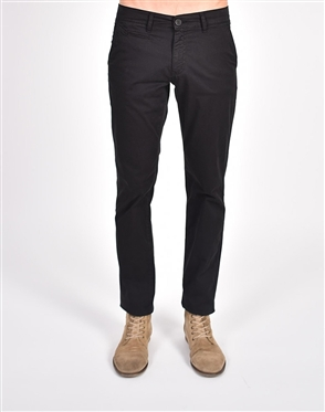 Black Slim Fit Chino Pants|Eight-x Luxury Chino Pants