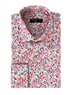 Elegant Men's Shirt  - White Floral Designer Shirt