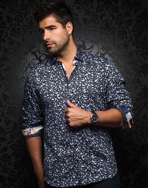 Trendy Dress Shirt - Campania Black