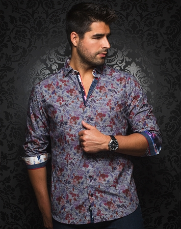 Trendy Dress Shirt - Campania Multi