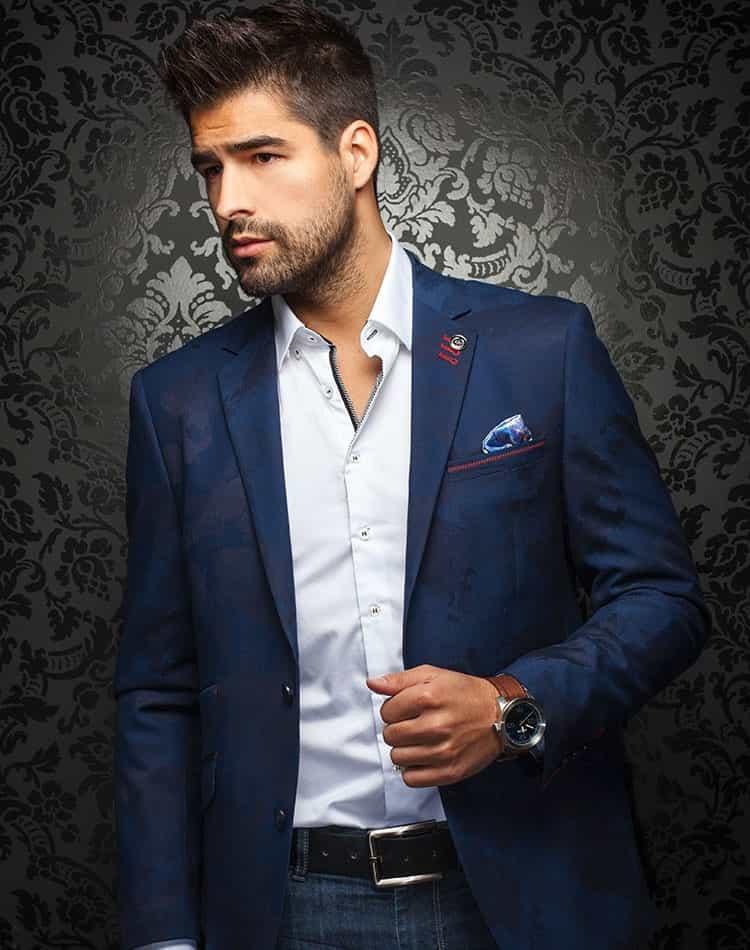 bc94d39e9f99 Luxury Sport Jacket: Stylish Navy Blazer | Men Fashion Coats | Au ...