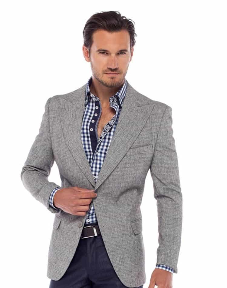 Shop Men Sport Coat Italian Grey Sport Coat Botagi Free Shipping