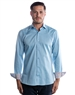 Designer Dress Shirt - Luxury Turquoise Dress Shirt