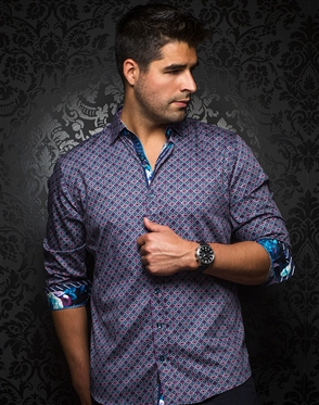 Men's Luxury Sport Shirt - Clifford Multi