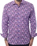 Purple Floral Shirt