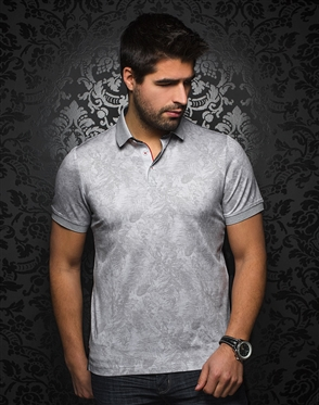 Unique Light Gray Polo Shirt