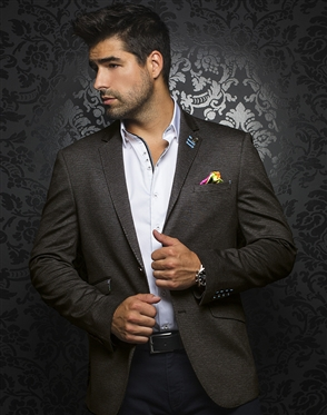 Luxury Sport Coat | Brown Jacket