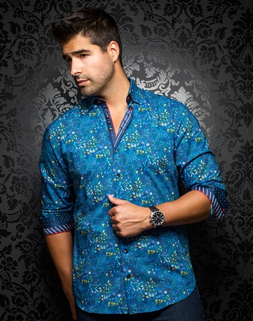 Men's Luxury Sport Shirt - Cove Teal