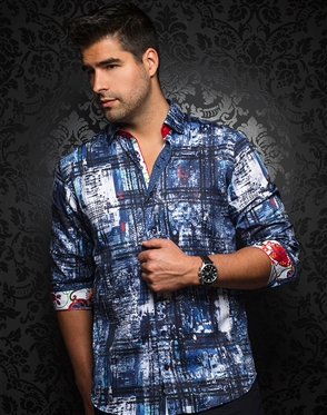 Luxury Sport Shirt - Cruz Navy