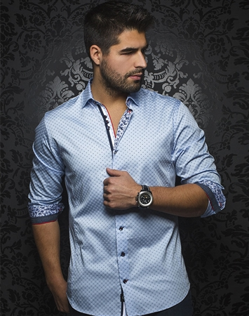 Light Blue Fashion Shirt