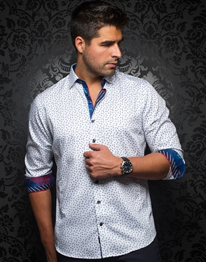 Modern Fashion Shirt - Dario White