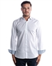 Luxury Dress Shirt - Classy White Long Sleeve Woven