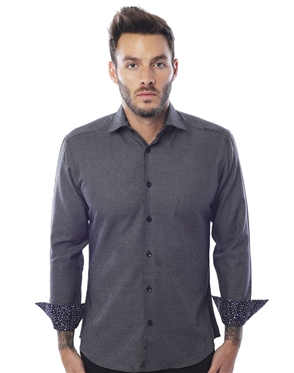 Casual Sport Shirt - Black Diamond
