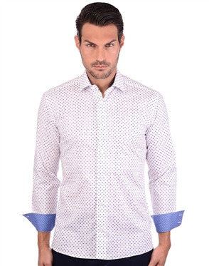 Clean-Cut Men's Stylish Cotton Shirt