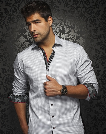 Luxury Shirt: Men White Dress Shirt