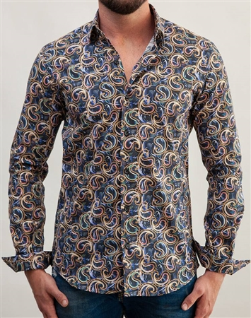 Colorful Luxury Dress Shirt