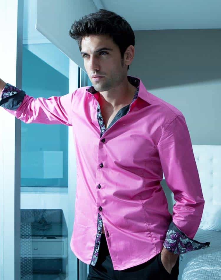 don bas shirt omni pink