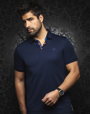 Au Noir Polo | Eagle Navy