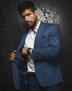 Shop Men : Men's  Luxury Navy Sport Coat