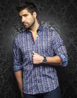 Au Noir Shirt ellington-navy