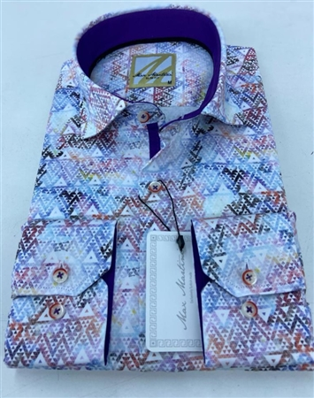 Fashionable Multi Dress Shirt