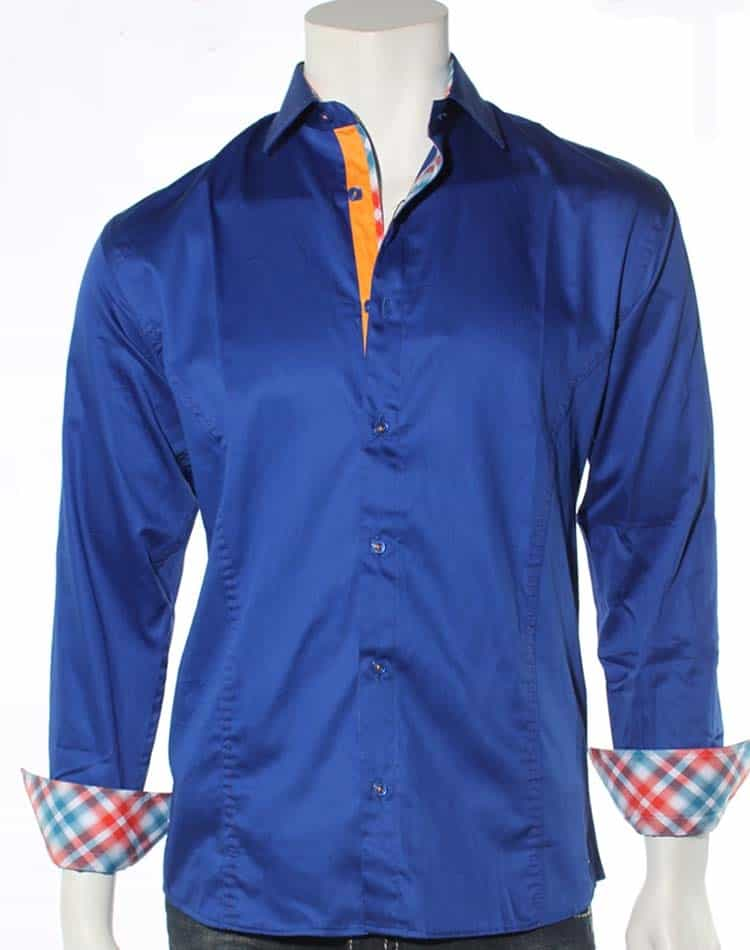 Envy Shirt  Royal Blue Dress Shirt- 51014