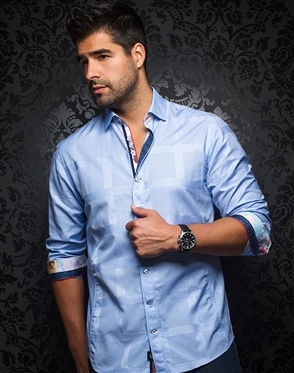 Modern-Classic Light Blue Dress Shirt