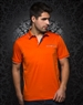 Casual Orange Polo Shirt
