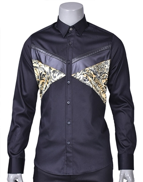 Luxury Sport Shirt - Nico Black