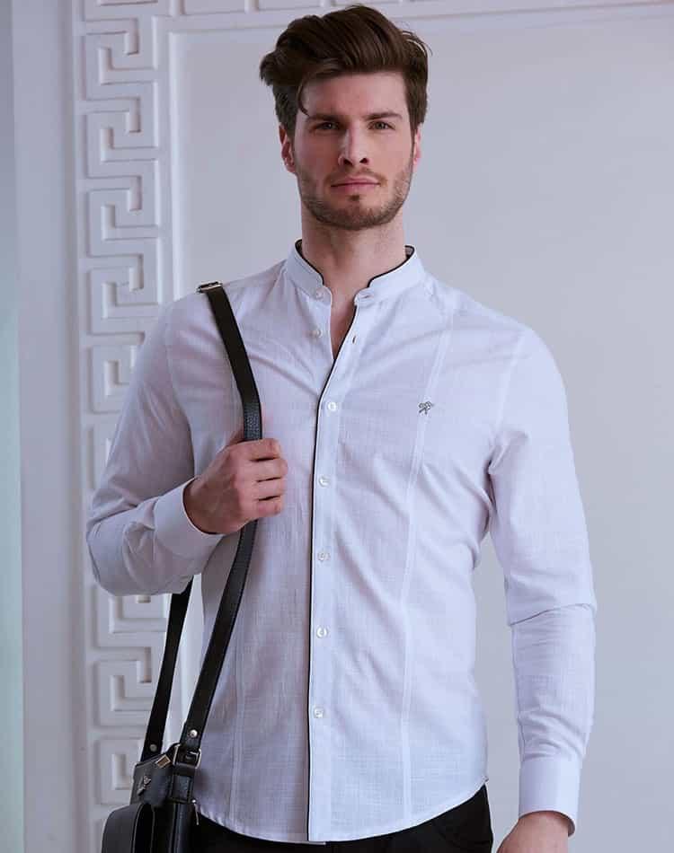 52294daed4d76 White Linen Shirt