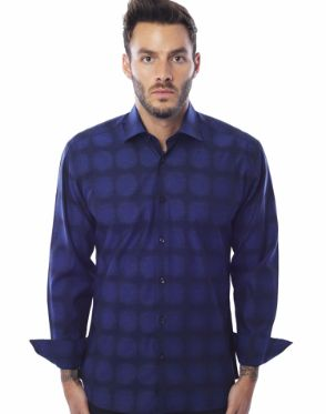 Luxury Button Down - Navy
