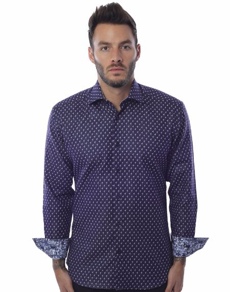 Luxury Casual Shirt - Navy
