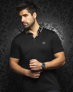 Au Noir Polo | Gustav Black