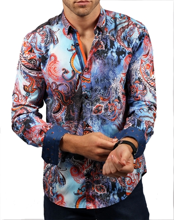 Luxury Paisley Shirt