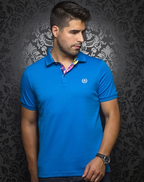 Men's Designer Polo - Royal Blue