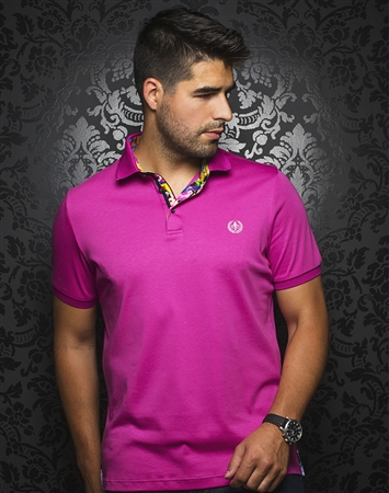 Luxury Fuchsia Polo