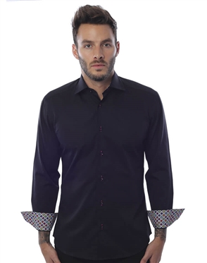 Luxry Black Dress Shirt