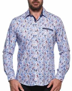 Mens Designer Button Down