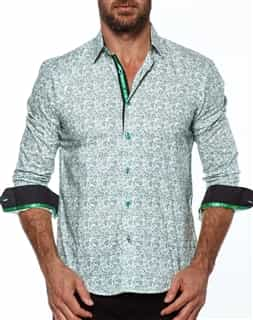 Men Fashion Shirt - Green