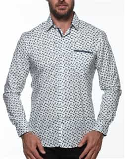 Men Sport Shirt - White